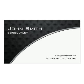 Reparación blanca moderna elegante profesional del plantilla de tarjeta de visita