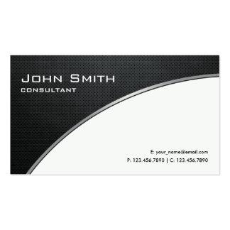 Reparación blanca moderna elegante profesional del tarjetas de visita