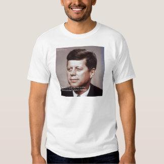 Reparación de JFK la cita famosa del tejado Camisas