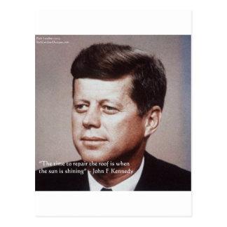 Reparación de JFK la cita famosa del tejado Postales