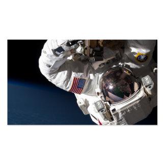 Reparación de la estación espacial tarjetas de visita