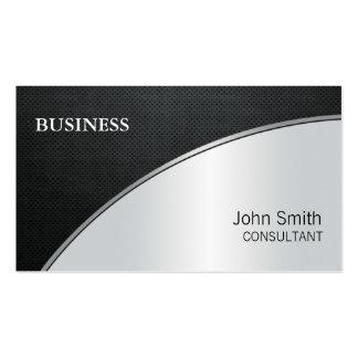 Reparación de plata moderna elegante profesional tarjetas de visita
