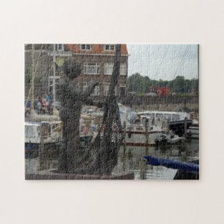 Reparación de redes de pesca puzzle con fotos