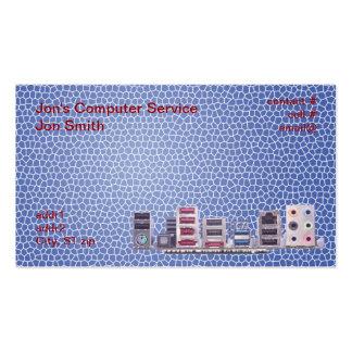 Reparación del ordenador tarjetas de visita