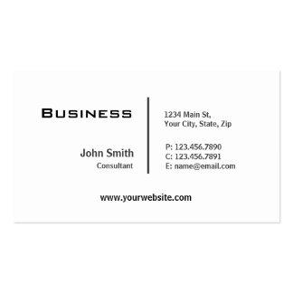 Reparación moderna elegante llana profesional del tarjetas de visita
