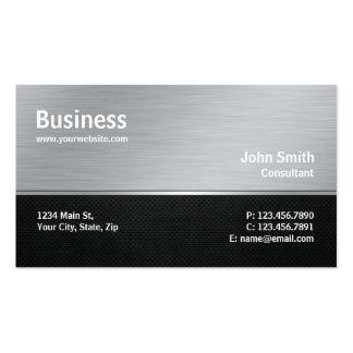Reparación moderna profesional del ordenador de la tarjeta de visita
