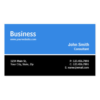 Reparación simple llana moderna profesional del or tarjeta personal