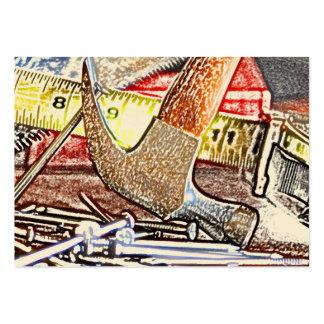 reparaciones caseras plantilla de tarjeta de negocio