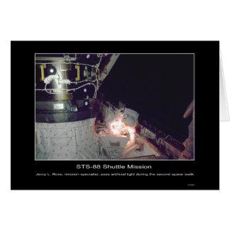 Reparaciones del paseo del espacio de Jerry L. Ros Tarjeta De Felicitación