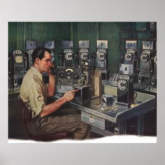 Reparador del teléfono de pago del teléfono del ne impresiones