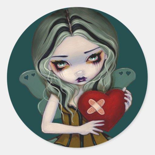 """""""Reparando pegatina de un corazón quebrado"""""""