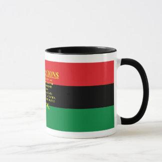 REPARATIONS: IT'S MY MONEY, (AA FLAG) Ringer Mug. Mug