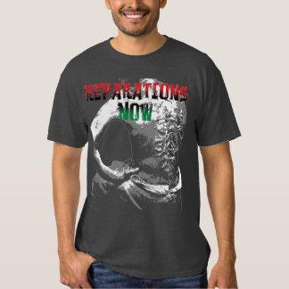 REPARATIONS NOW SHIRT. (2 sided dark) T Shirt