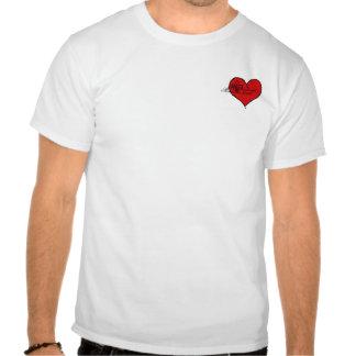 Repare este corazón camisetas