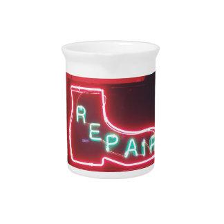 Repare Neon Sign NYC Beverage Pitcher