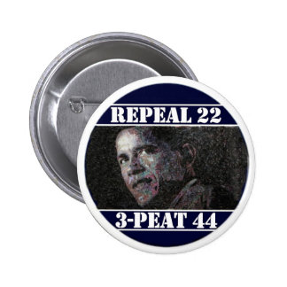 Repeal 22nd Amendment 2 Inch Round Button