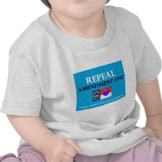 Repeal Amendment One NC Tshirts