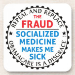 Repeal And Replace Beverage Coasters