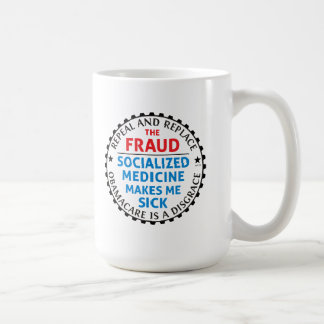 Repeal And Replace Classic White Coffee Mug