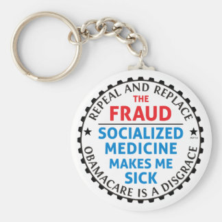 Repeal And Replace Key Chain
