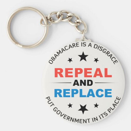 Repeal And Replace Keychain