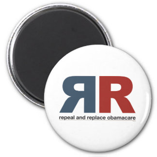 Repeal And Replace Obamacare 2 Inch Round Magnet