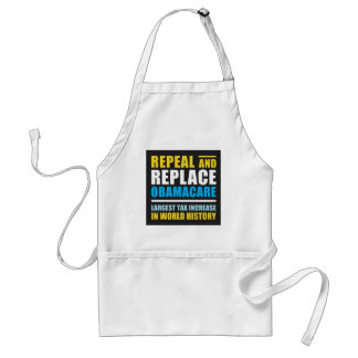 Repeal And Replace Obamacare Adult Apron