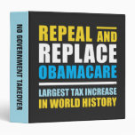 Repeal And Replace Obamacare Binder