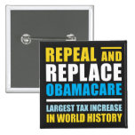 Repeal And Replace Obamacare Button