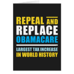 Repeal And Replace Obamacare Card