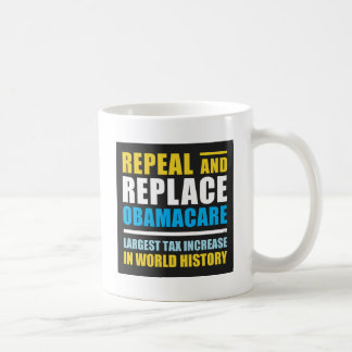 Repeal And Replace Obamacare Classic White Coffee Mug