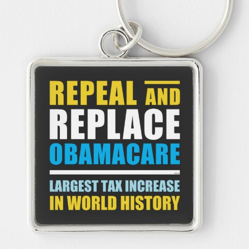 Repeal And Replace Obamacare Keychain