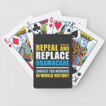Repeal And Replace Obamacare Playing Cards
