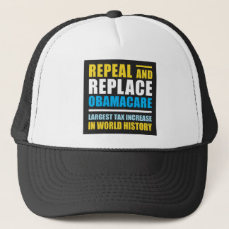 Repeal And Replace Obamacare Trucker Hat