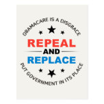 Repeal And Replace Postcards