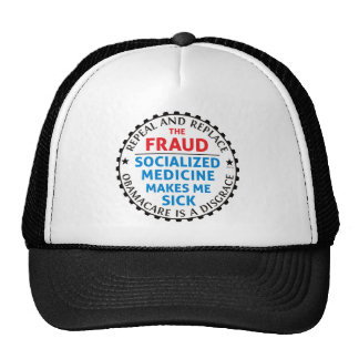 Repeal And Replace Trucker Hat