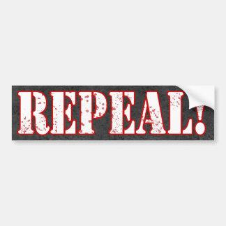 REPEAL! Bumpersticker Bumper Sticker