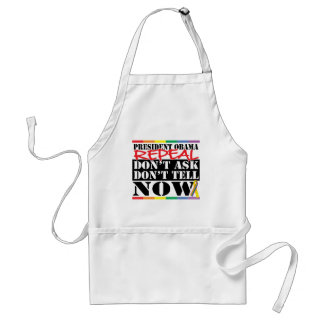 Repeal Don't Ask Don't Tell Adult Apron