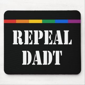 Repeal Don't Ask Don't Tell Mouse Pad
