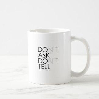 Repeal DON'T ASK DON'T TELL Mug