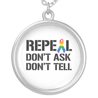 Repeal Don't Ask Don't Tell Custom Jewelry
