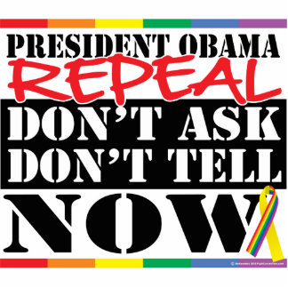 Repeal Don't Ask Don't Tell Photo Cut Out