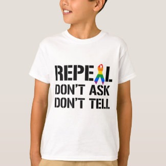 Repeal Don't Ask Don't Tell T-Shirt