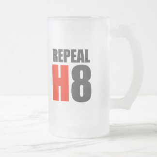 REPEAL H8 16 OZ FROSTED GLASS BEER MUG