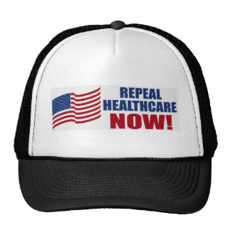 Repeal healthcare NOW! Trucker Hat
