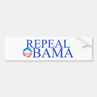 Repeal Obama Car Bumper Sticker