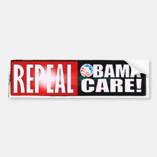 REPEAL OBAMA CARE OBAMACARE CAR BUMPER STICKER