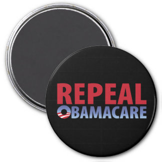 Repeal Obamacare 3 Inch Round Magnet