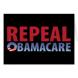 Repeal Obamacare Card