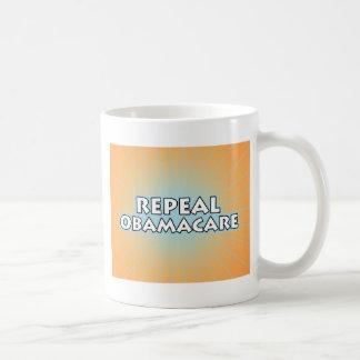 Repeal Obamacare Classic White Coffee Mug